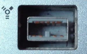 Porta Firewire 800 a 9 poli